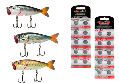 BassKisser - Ultra Effective Top Water Lure - Pro Set