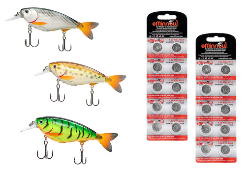 WildJax - Lipped Diving Lure - Pro Set