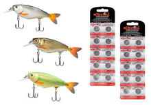 Load image into Gallery viewer, WildJax - Lipped Diving Lure - Pro Set