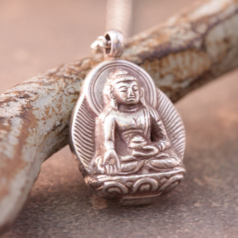 Buddha Sanskrit Necklace