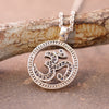 Om and Marcasite Clarity Necklace