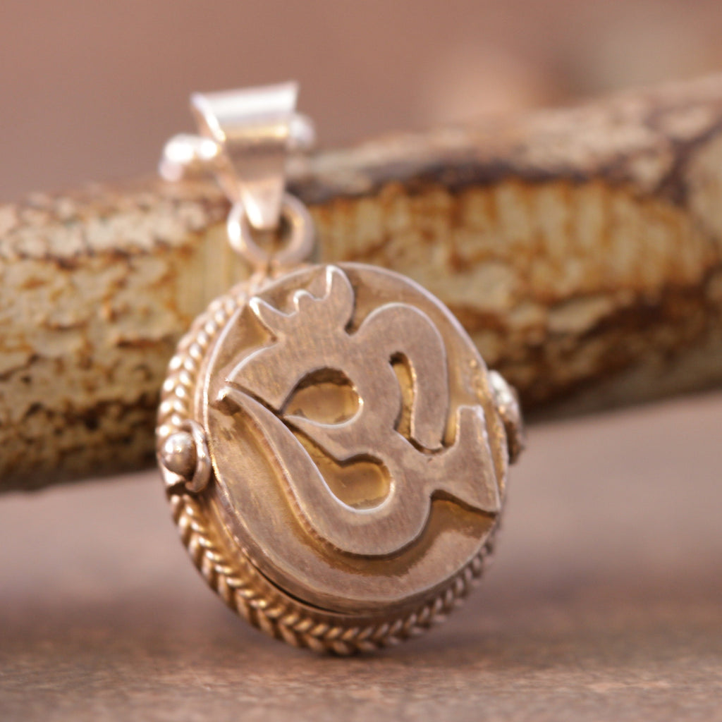 Om Locket For Your Universe Necklace