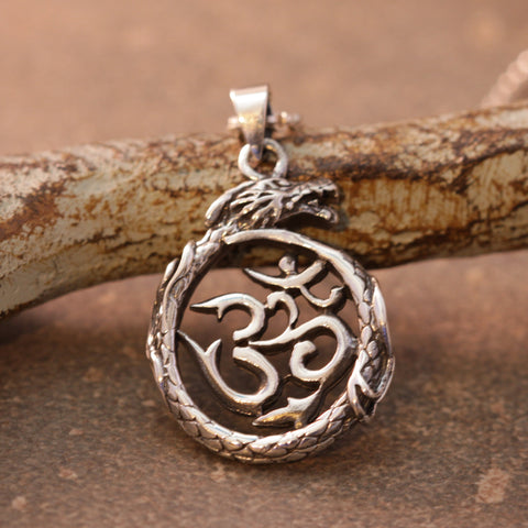 Dragon Om Necklace