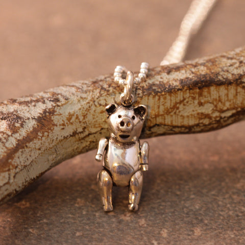 Dancing Pig Necklace