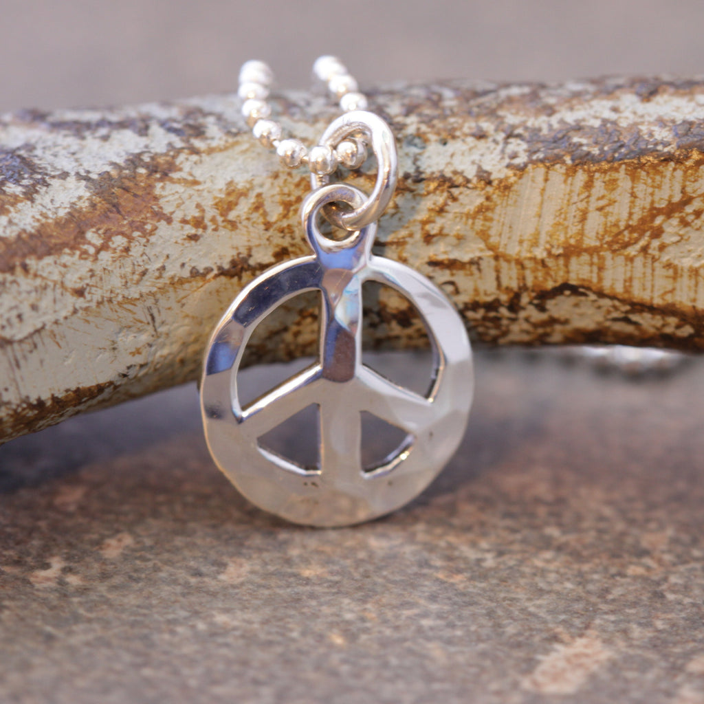 Just a Little Peace Necklace