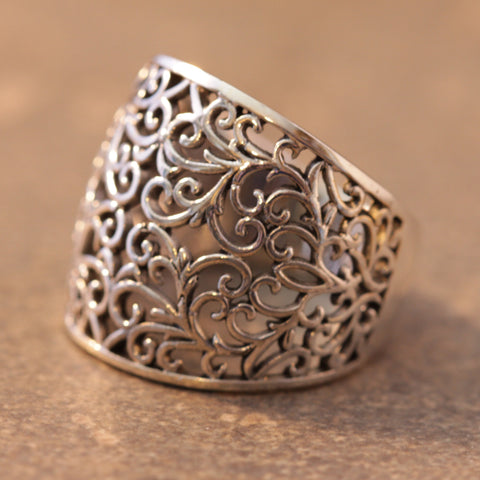 All Swirled Up Ring