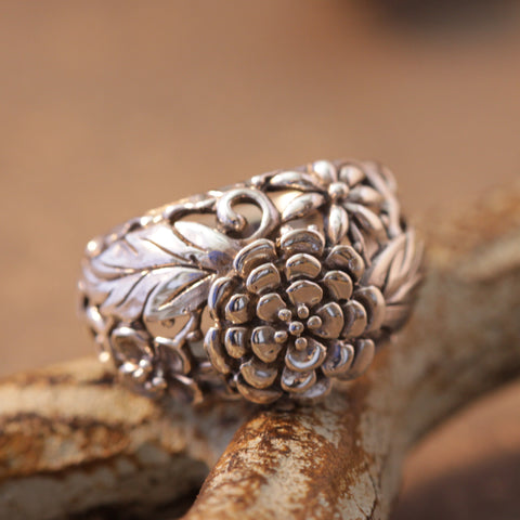 Flowers For You Ring
