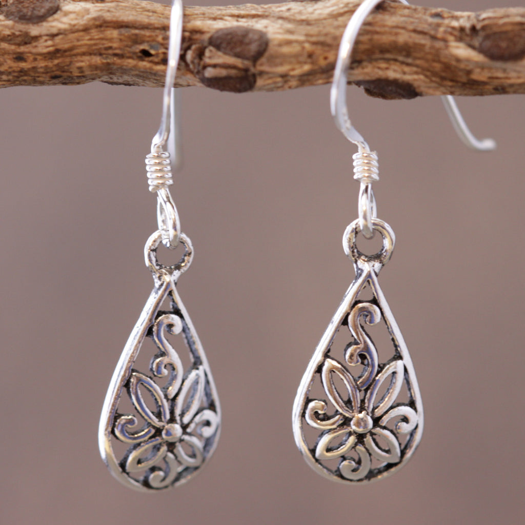 Dainty Pear Shaped Earrings