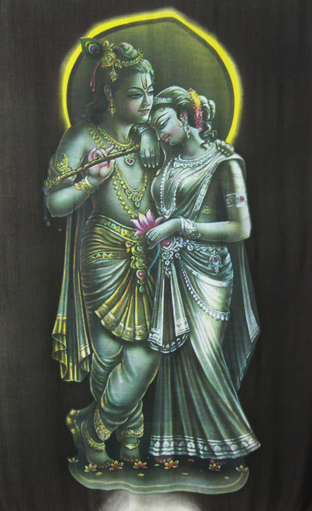 Krishna and Radha Wall Hanging