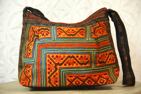 Mini Festival Crossbody Bag - Sunset Orange