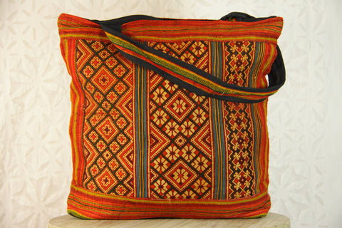 Deep Indian Summer Large Shoulder Bag