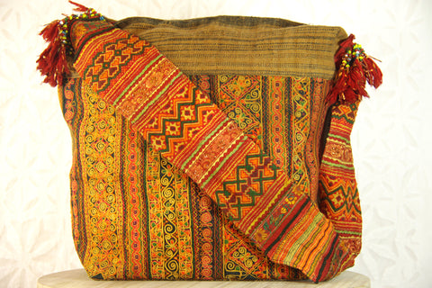 Bohemian Harvest Crossbody Bag