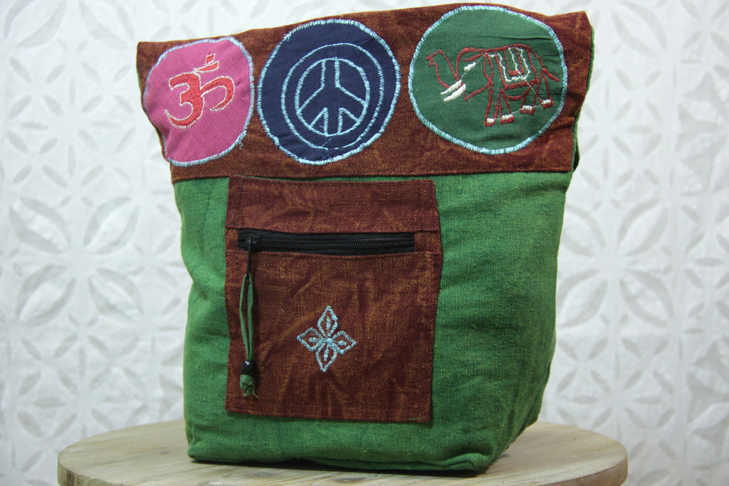 Om Meditation Crossbody Bag