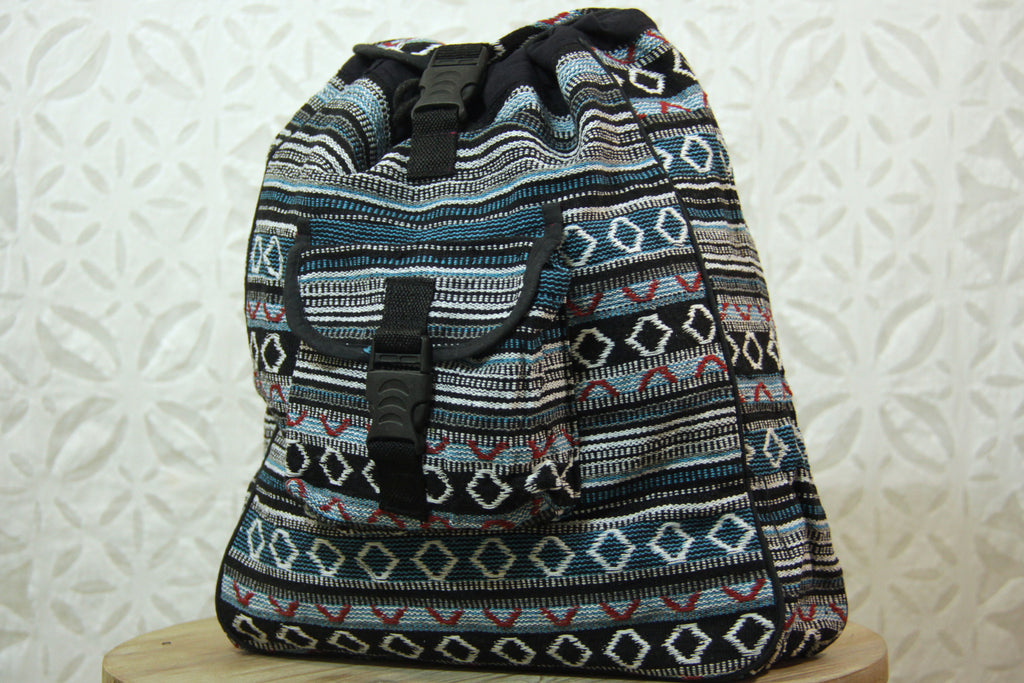 Indian Cotton Backpack
