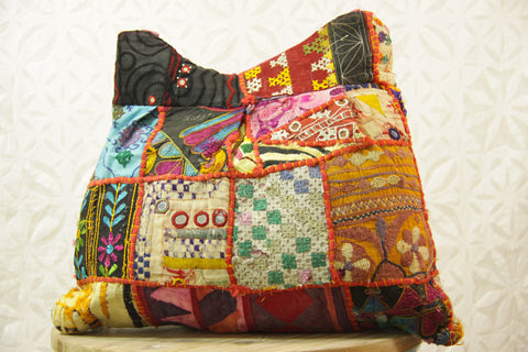 Rajasthani Shoulder Bag - Gardenia