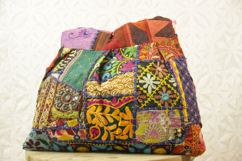 Rajasthani Shoulder Bag - Tropical