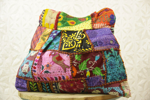 Rajasthani Shoulder Bag - Rain Forest