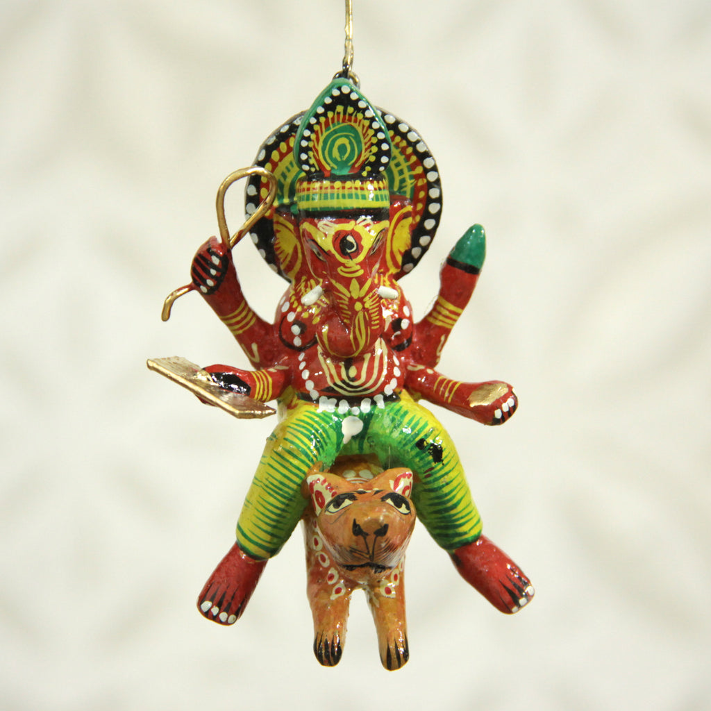 Ganesh & Rat Flying Deity