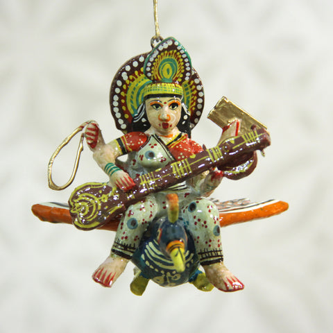 Saraswati Flying Deity