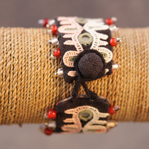 Indian Cloth Bracelet