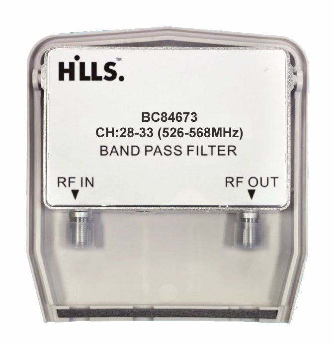 Hills BC84673 B-Block Bandpass Filter