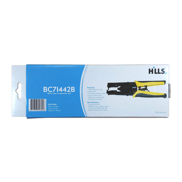 Hills BC71442B RG11 F-Type Compression Tool Box.