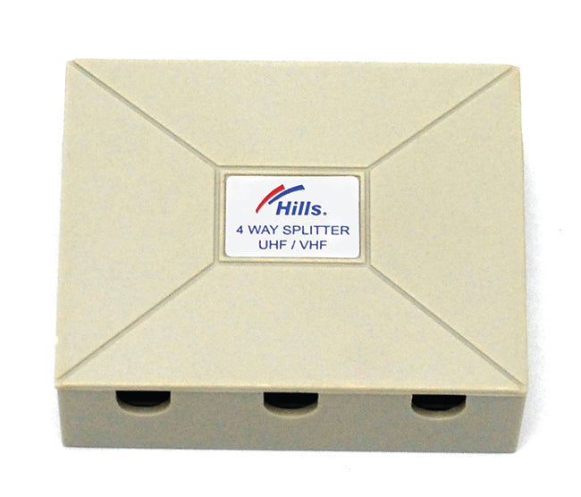 Hills BC3622DP 4-Way Saddle Type Splitter - Display Pack