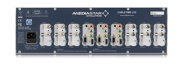 MediaStar 770 3RU Chassis with PSU