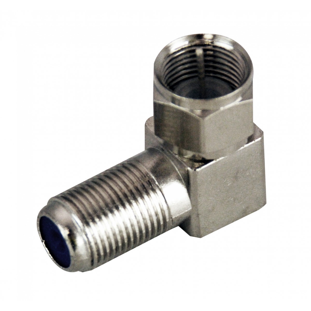 Hills BC3720HR F-Type Male to Female Right Angle Adaptor