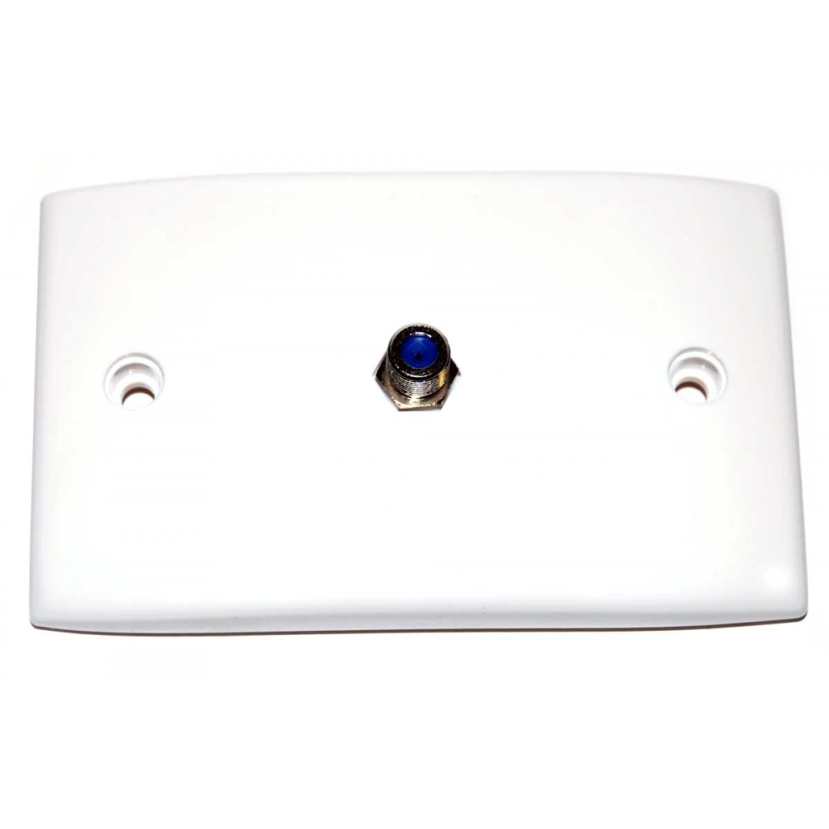 Hills KC4792 F-Type Female HRL Wall Plate - 100 Pack