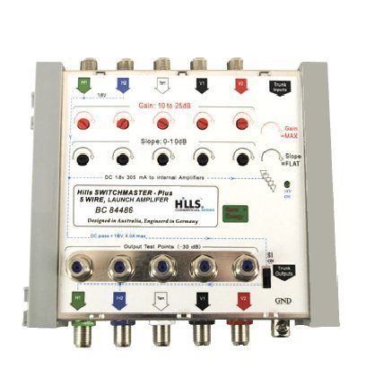 Hills BC84486 5 Input Launch Amplifier