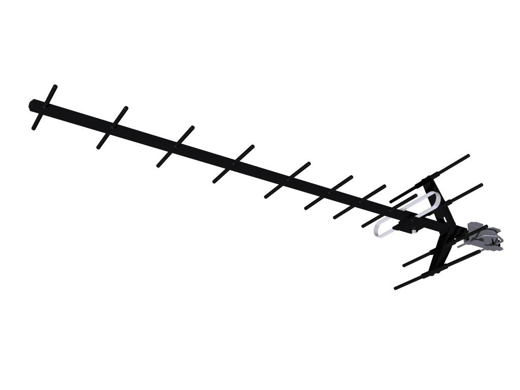 FB608600 Hills Tru-Spec TSP2851 UHF Antenna in Black
