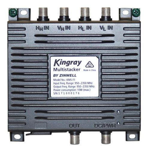 Kingray 1-Wire Satellite Multistacker
