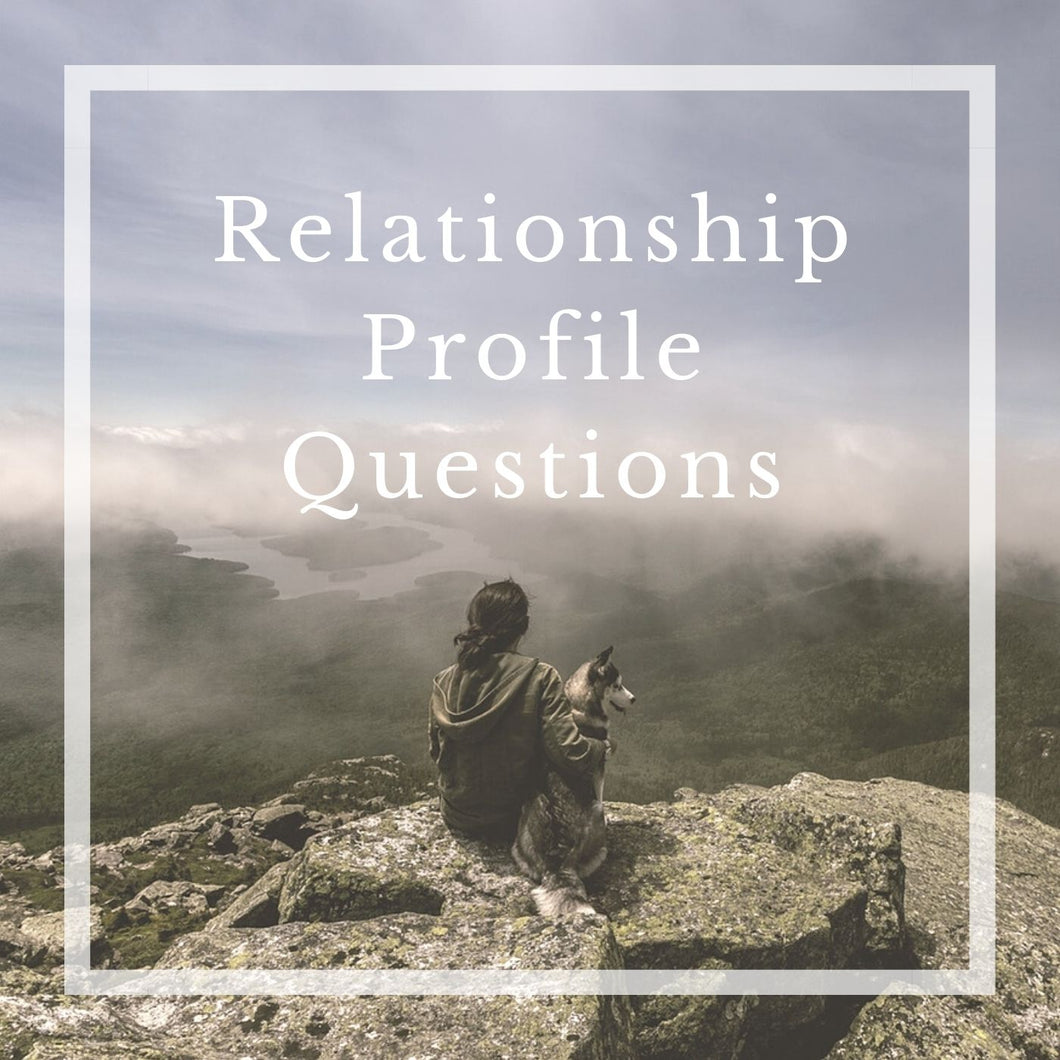 Relationship Profile Questions