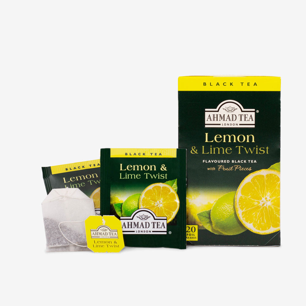 Lemon & Lime Twist Fruit Black Tea
