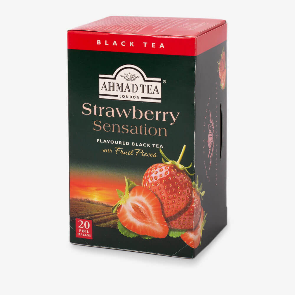Strawberry Sensation Fruit Black Tea