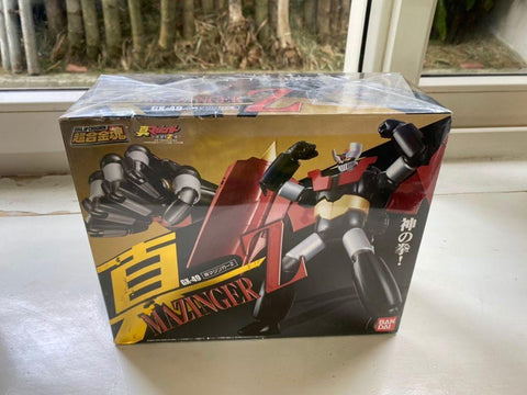 Ogie Alcasid's Soul of Chogokin GX-49 Shin Mazinger Z mint in box by bandai sealed