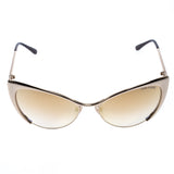 Angel Locsin's Tom Ford Gold Nastasya Mirror Cat Eye Sunglasses