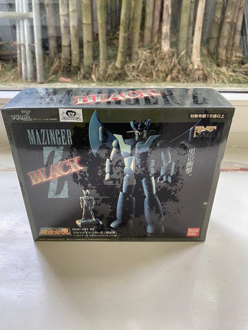 Ogie Alcasid's Mazinger Z in black 1998 version mint in box (sealed) SOC by bandai