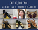 Karla Estrada's Saint Laurent Women's Espadrille Platform Wedge Sandals