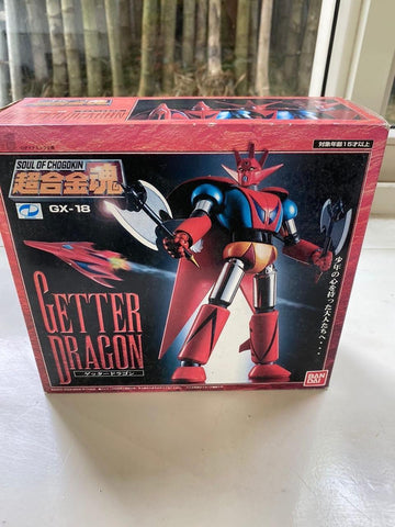Ogie Alcasid's Soul of Chogokin GX-18 - Getter Dragon