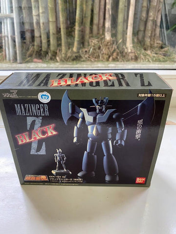 Ogie Alcasid's Mazinger Z 1998 version in black (incomplete) by bandai