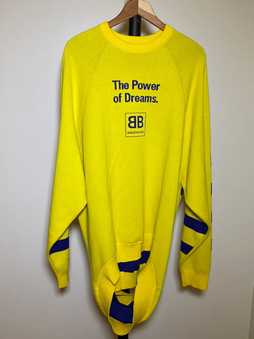 "Hayden Kho's Balenciaga ""The Power of Dreams"" Sweater"