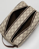 Rina Navarro's of I AM Hope Gucci Toiletry Bag Beige/Brown