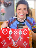 Regine Velasquez's Louis Vuitton On The Go Monogram Giant Tote Bag
