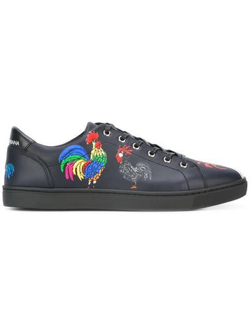 Vhong Navarro's Dolce & Gabanna London Rooster Print Sneakers