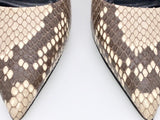 Vicki Belo's LOUIS VUITTON snakeskin pumps