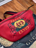 Hayden Kho's GUCCI Leather Coco Capitán Logo Belt Bag