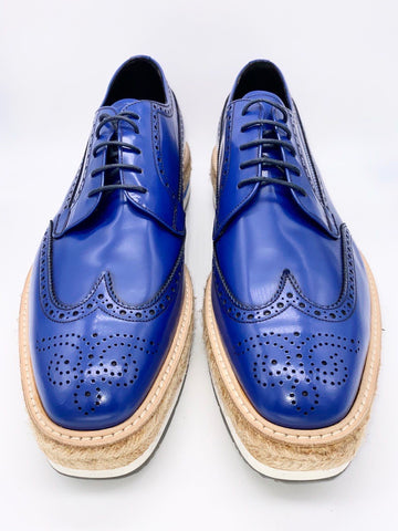Hayden Kho's PRADA Platform Wingtip Brogue Shoes