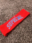 Vice Ganda's Supreme New Era Sequin Arc Logo Headband